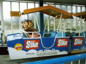 Link - Bradley Beaver on Monorail Ride (Blackpool Pleasure Beach)