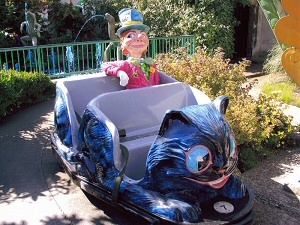 Link - Mad Hatter on Alice in Wonderland Ride (Blackpool Pleasure Beach)